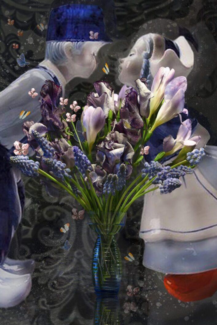 stilleven-bloemen-tulpen-werk-aan-de-muur-rembrandt-stijl-hoogeveen-drenthe-ina-kleiman